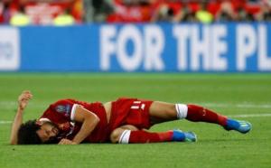 Mohamed Salah pourrait manquer la Coupe du monde