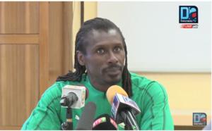 [REPLAY-LUXEMBOURG] Revivez la conférence de presse du coach Aliou Cissé