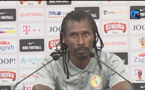 Croatie / Sénégal : Aliou Cissé en colère contre l'arbitrage