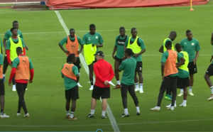 Équipe nationale : Un entraînement à huis clos avant de décoller pour Moscou