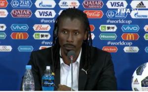 """Aliou Cissé : """"Je suis sûr que toute l'Afrique nous soutient"""""""