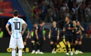 L'Argentine au fond du trou, humiliée par la Croatie (0-3)