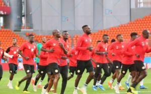 Une bonne ambiance lors de l'entraînement à la veille de Japon - Sénégal