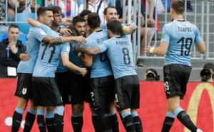 COUPE DU MONDE : Uruguay bat la Russie (3-0) et termine première du groupe A