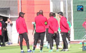 Entraînement des Lions : Aliou Cissé mélange tout à 48h du match contre la Colombie