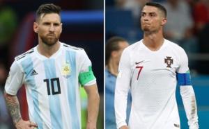 Coupe du monde : Messi et Cristiano Ronaldo, deux légendes qui sortent par la petite porte...