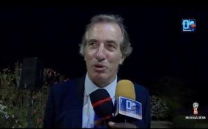 """France ~Belgique / L'ambassadeur de France au Sénégal se prononce : """"Ça sera un match fort difficile, mais la France va gagner..."""" (Christophe Bigot)"""