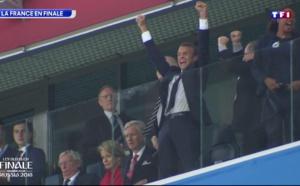 FINALE DE LA COUPE DU MONDE : Emmanuel Macron à Moscou pour soutenir les Bleus