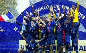 La France bat la Croatie (4-2) et remporte la Coupe du monde Russie 2018