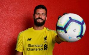 Liverpool : Alisson, c'est fait !