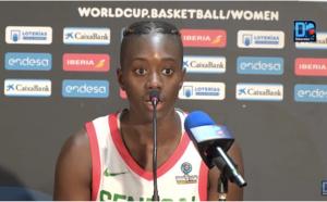 """Yacine Diop : """"Rester concentrées durant les matchs et ne pas se laisser distraire"""""""