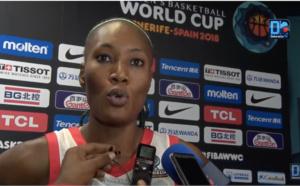 """Astou Traoré : """"L'objectif, c'était la qualification, nous estimons l'avoir déjà atteint..."""""""