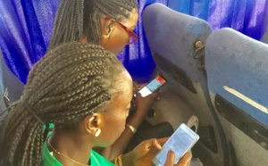 Journalistes et campagne électorale : Le téléphone portable peut aussi servir à écrire un article