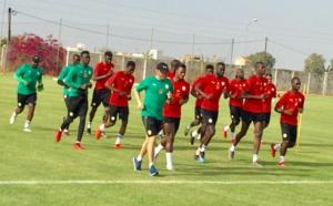 Diambars (Saly) : Séance d'entraînement spécifique pour les remplaçants de Sénégal-Madagascar (2-0)