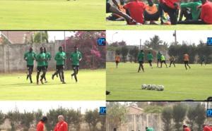Entraînement en ce jour de Korité pour les Lions, avec Gana et Mbaye Niang