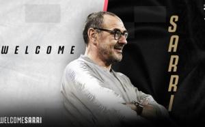 Officiel : Maurizio Sarri quitte Chelsea et rejoint la Juventus Turin !