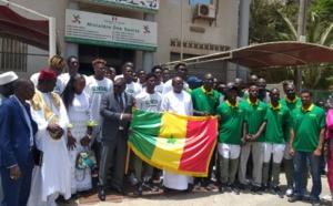 Mondial Basket U19 : Les « Lionceaux » ont reçu le drapeau des mains de Matar Ba