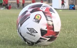 Les Lions se sont entraînés pour la première fois avec le ballon officiel de la CAN 2019