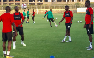 CAN 2019 : Le Sénégal poursuit sa préparation à huis-clos, Alfred Gomis encore ménagé
