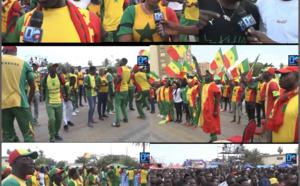 Sénégal vs Kenya : Ambiance avant-match au niveau du village de la CAN