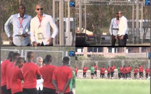 Equipe nationale : Diomansy Kamara a rendu visite aux Lions