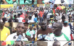 Qualification Sénégal en Finale / Fan Zone Ziguinchor : Les supporters aux anges