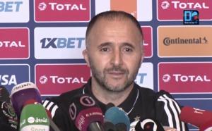 Djamel Belmadi, sélectionneur de l'Algérie : « Je ne peux rien promettre au peuple algérien… Nous allons nous battre jusqu'au bout »