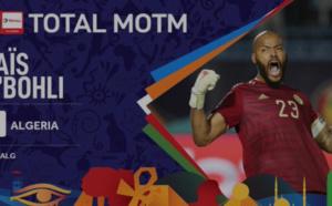 Homme du match : Le gardien des Fennecs Raïs M'Bolhi meilleur joueur de la finale Sénégal-Algérie (0-1)