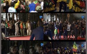 Accueil triomphal des Lions : Revivez l'ambiance festive au palais de la République