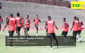 Éliminatoires CAN 2021 / 2eme séance d'entraînement du Sénégal à Eswatini