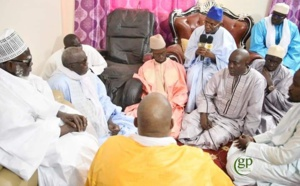 Les images de la  visite de la délégation du cadre unitaire islamique du Sénégal auprès du Khalife général des mourides