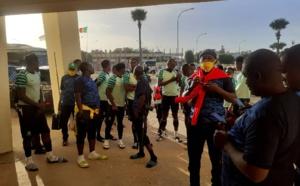 Coupe CAF : Le Kanon s'est finalement entrainé sur la pelouse de Lat Dior.
