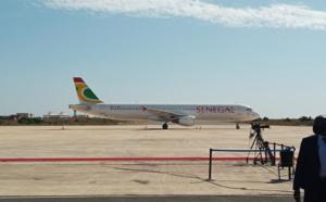 Hommage à Pape Bouba Diop : L'avion qui transporte la dépouille déjà sur le tarmac de l'AIBD.