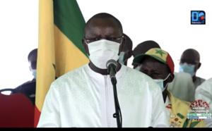 Obsèques Nationales de Pape Bouba Diop : Le Ministre des sports remercie la population sénégalaise.