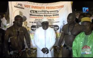 Lamb / Drapeau Ndoye Bane : Ousmane Gandigal remporte le trophée face à Safi Dieng.