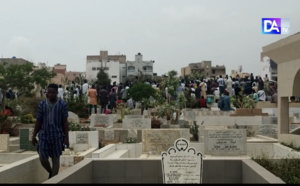 Cimetière Yoff : Le dernier match d'Ousmane Diagne «Welle», une immense foule présente à l'enterrement... (Reportage)