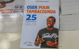 """Lancement du livre """"Oser pour Tambacounda"""" : Mamadou KASSÈ a exposé ses 25 propositions à sa communauté (Images)"""