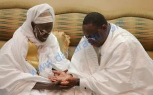 Touba : Macky Sall rend visite à Serigne Mountakha Bassirou Mbacké