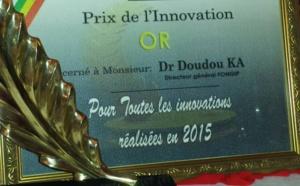 Prix de l'innovation 2015 : Le fongip, premier lauréat en or.