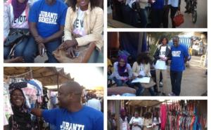 """""""Jubanti Sénégal"""" poursuit son """"Marathon du Non"""" (Images)"""