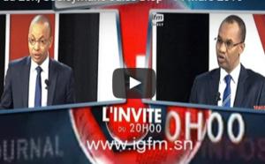 """Vidéo - """" L'invité du 20h """" avec Souleymane Jules Diop"""