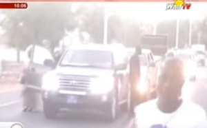 Le cortège de Aïda M'bodj attaqué à Fatick (vidéo)