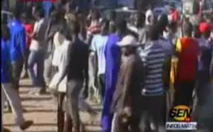 """Vidéo- Bagarre et coups de feu entre Cissé Lô et le mouvement """"Reuthiou"""""""