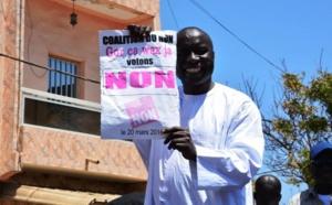 CONTESTATION : Le Front du Non à Thiès dépose un recours en annulation
