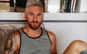 Lionel Messi change de look et se teint en blond !