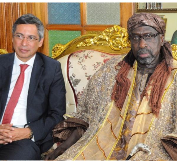 Le Premier ministre de l'Ile Maurice rend visite au Grand Serigne de Dakar Abdoulaye Makhtar Diop