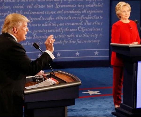 Premier débat entre Clinton et Trump : Les principales déclarations