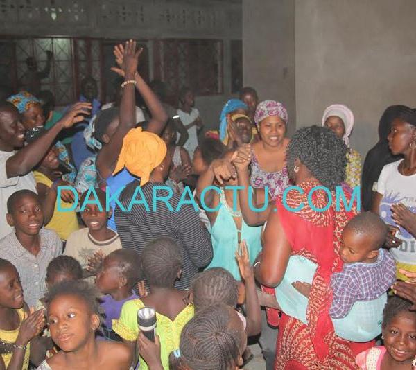 Kaffrine : 15 tonnes de riz et 300 nattes aux déplacés de la Gambie