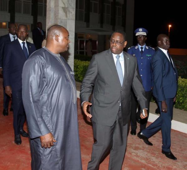 L'APR de Grand Yoff félicite le Président Macky Sall  pour la résolution pacifique de la crise gambienne.
