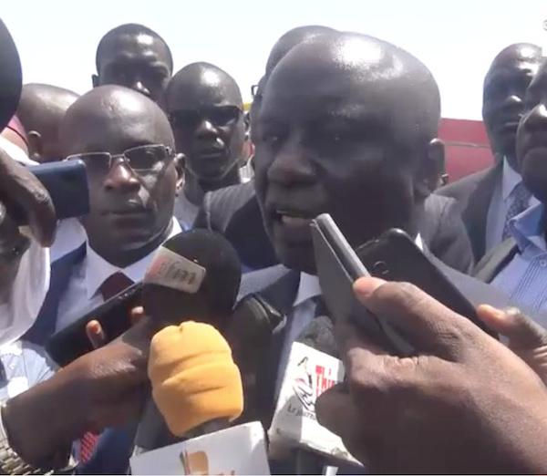 """IDRISSA SECK À THIÈS : """" Ce que j'attends concrètement du président de la République Macky Sall..."""""""